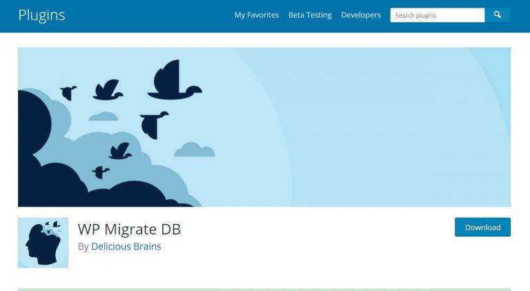migrar wordpress con plugin WP Migrate DB