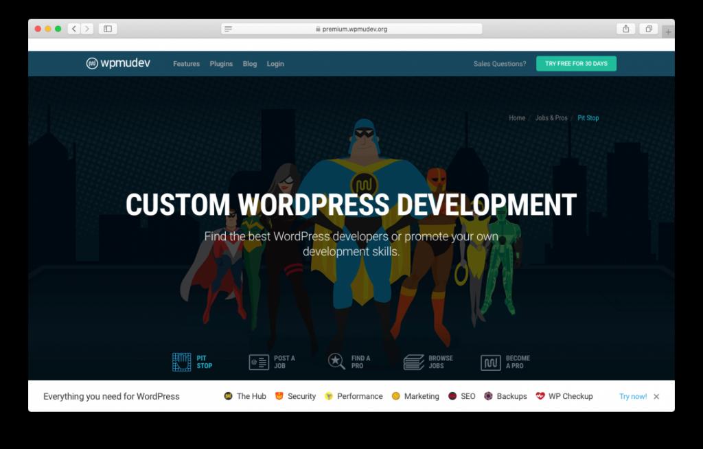 WPMUDEV es uno de los mejores lugares para contratar trabajadores independientes de WordPress
