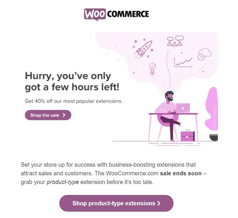 Espacio en blanco en el marketing por correo electrónico
