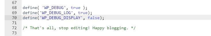 Cómo ocultar todos los errores deshabilitando WP_DEBUG_DISPLAY