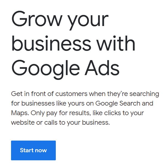 Promociona el envío directo con los anuncios de google