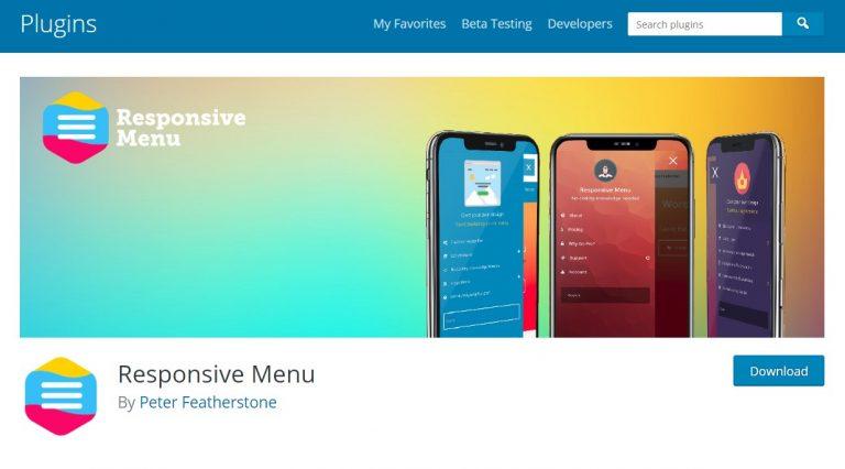 El menú receptivo ofrece más de 150 opciones de personalización