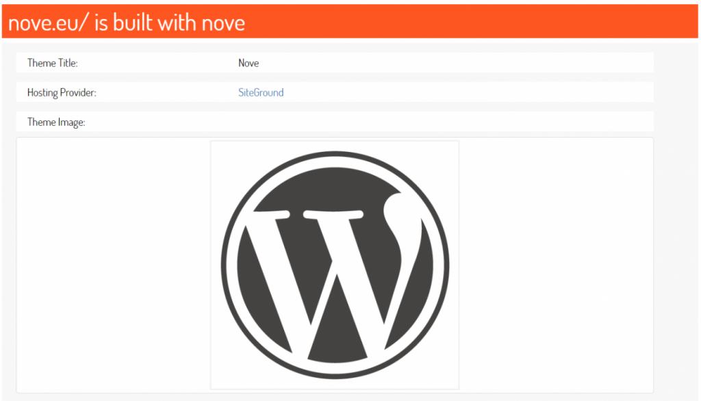 herramienta de detección de temas scanwp wordpress