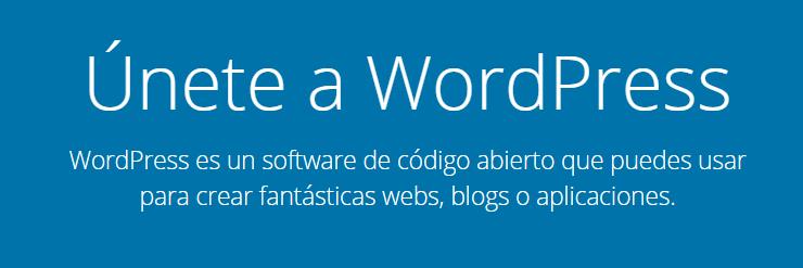 Solo uno de los muchos ejemplos sobre cómo WordPress es utilizado por marcas famosas de todo el mundo.