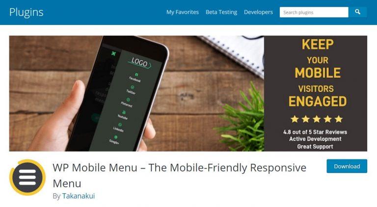 Este increíble complemento de menú es la mejor solución para optimizar el menú del sitio web para dispositivos móviles