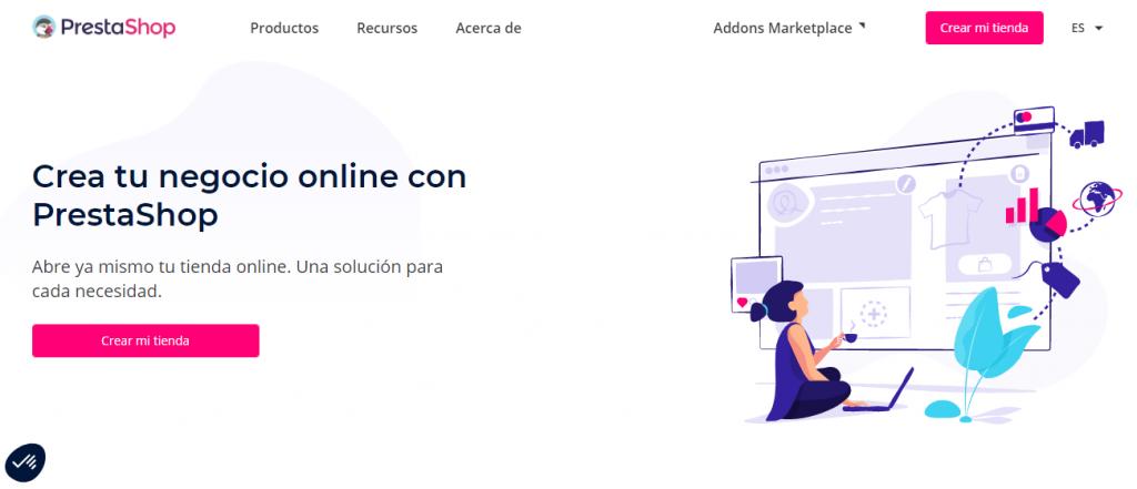 PrestaShop, software para tienda de ropa online