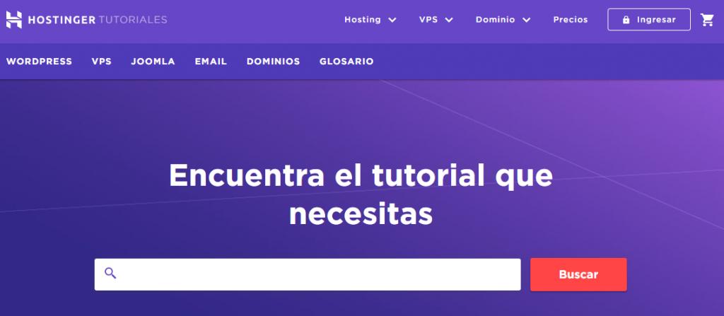 tutoriales de hostinger para ayudar a los usuarios que son nuevos en wordpress