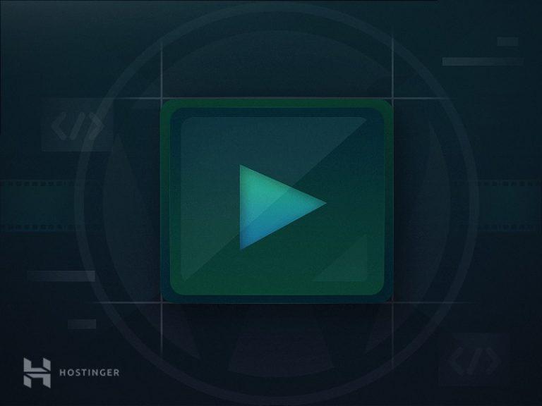 Cómo insertar un video en WordPress