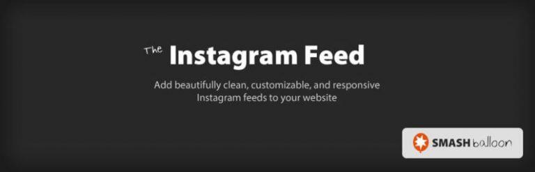El complemento de feed de Instagram.