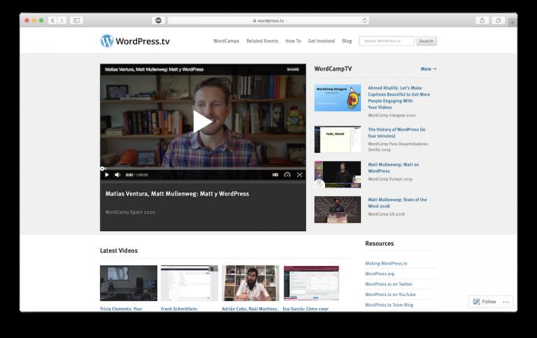 sitio de tutoriales wordpress WordPress
