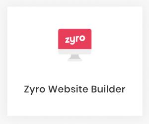 Creador de sitios web Zyro