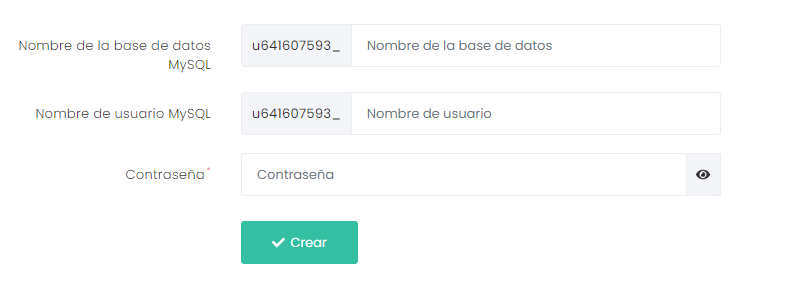 Creando una base de datos MySQL para instalar Magento