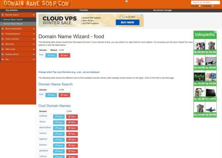 Domain Name Soup