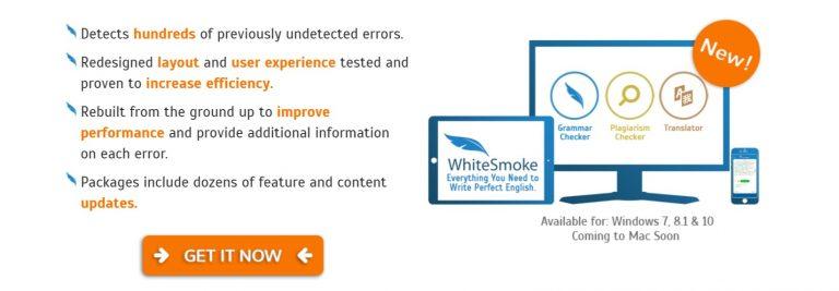 Amplia compatibilidad con WhiteSmoke