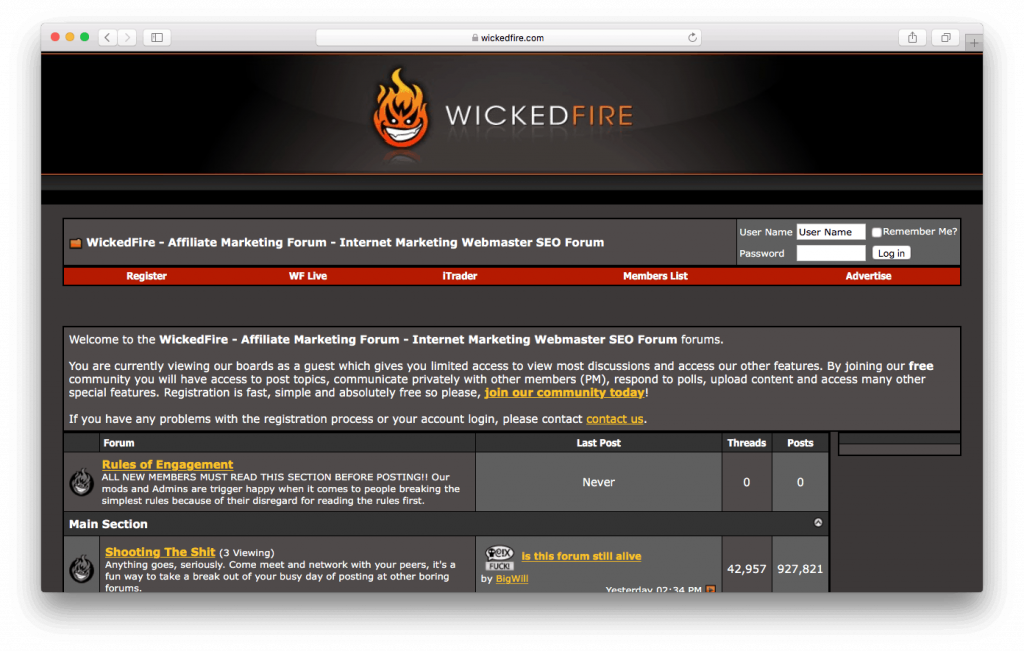 Foro de SEO de Wicked