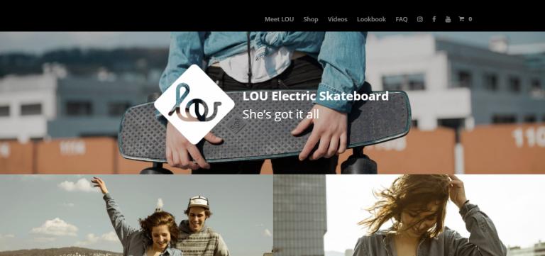 Sitio web LOU Board