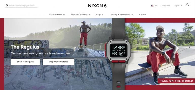 Sitio web de Nixon