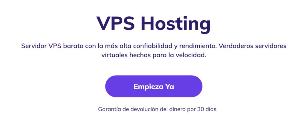 VPS Hosting de Hostinger