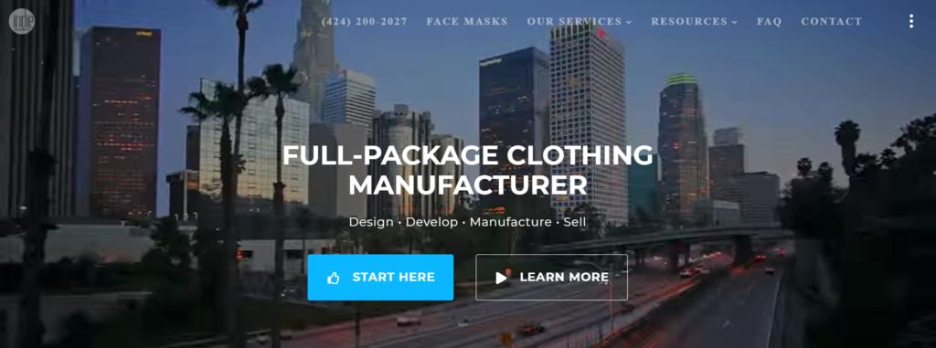 Fabricante mayorista de ropa Indie Source