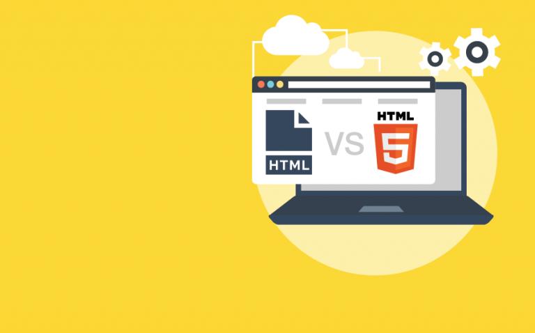 La diferencia entre HTML y HTML5