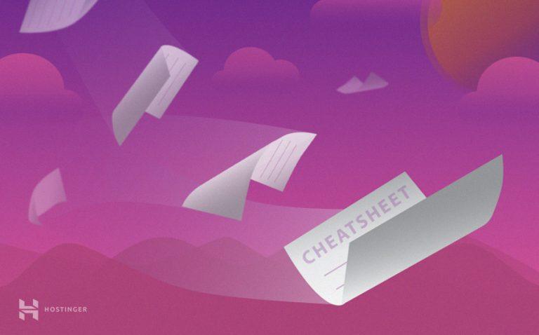 Códigos CSS – Cheat Sheet para principiantes y expertos