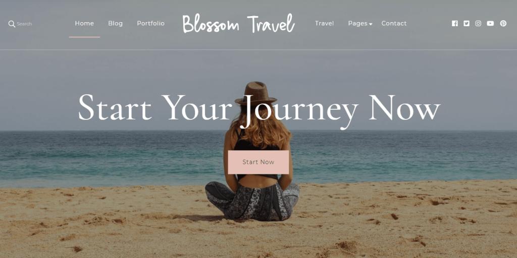 Plantilla de WordPress Blossom Travel