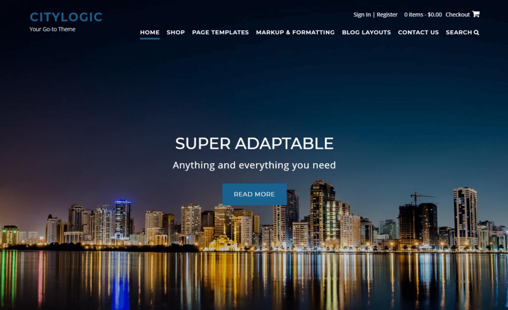 Tema de WordPress CityLogic