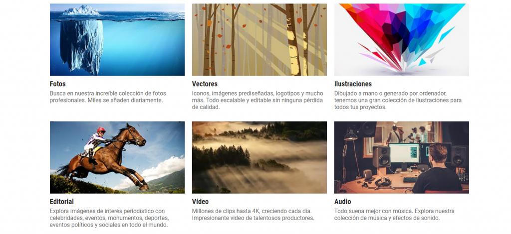 Sitio web de Dreamstime