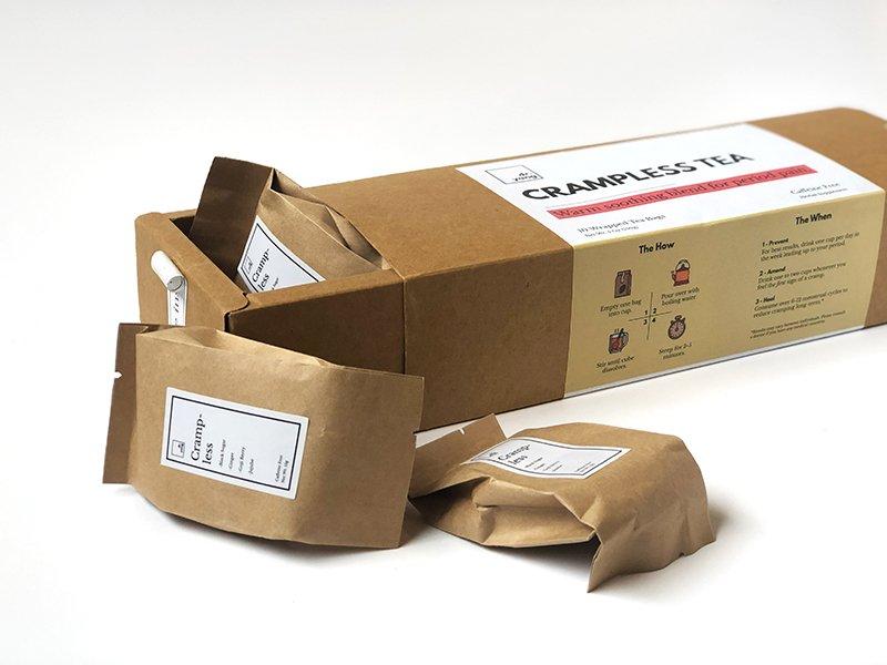 Fotografía de producto que incluye el empaque
