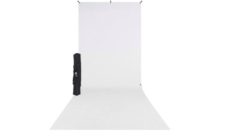 Telón de fondo blanco para fotografías