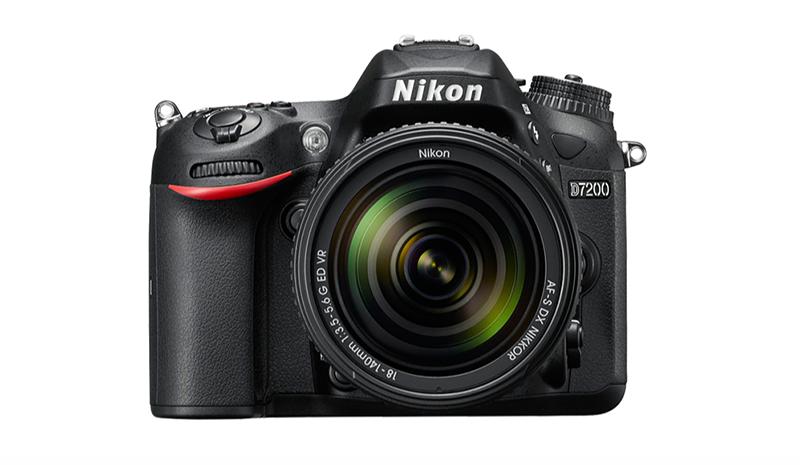 Imagen de la cámara Nikon D7200